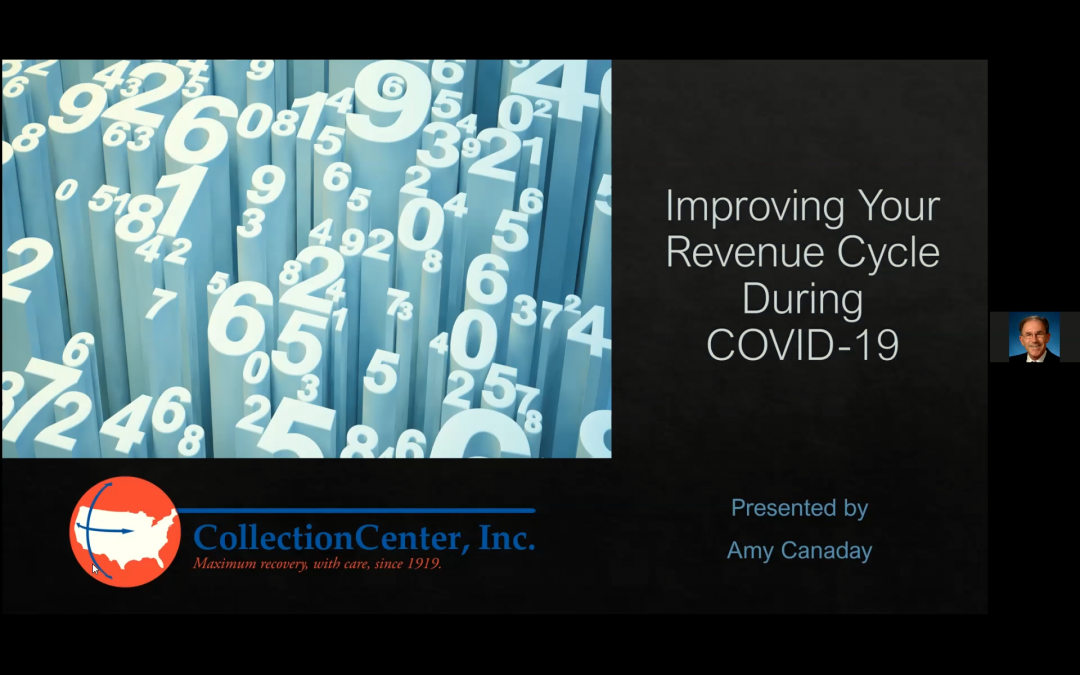 Improving Your Revenue Cycle During COVID-19 Webinar with Amy Canaday